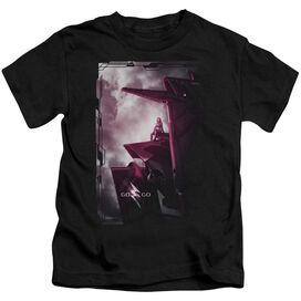 Power Rangers Pink Zord Poster Short Sleeve Juvenile T-Shirt