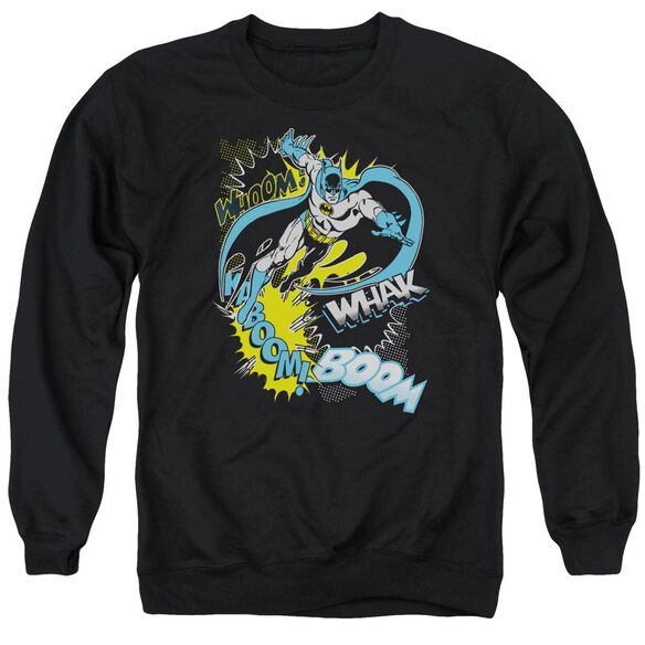 Batman Bat Effects Adult Crewneck Sweatshirt