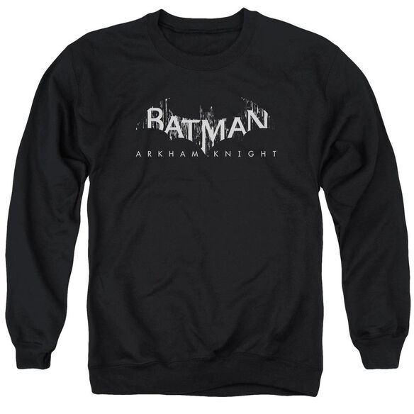 Batman Arkham Knight Ak Splinter Logo Adult Crewneck Sweatshirt