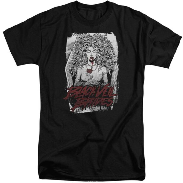Veil Brides Coffin Queen Short Sleeve Adult Tall T-Shirt