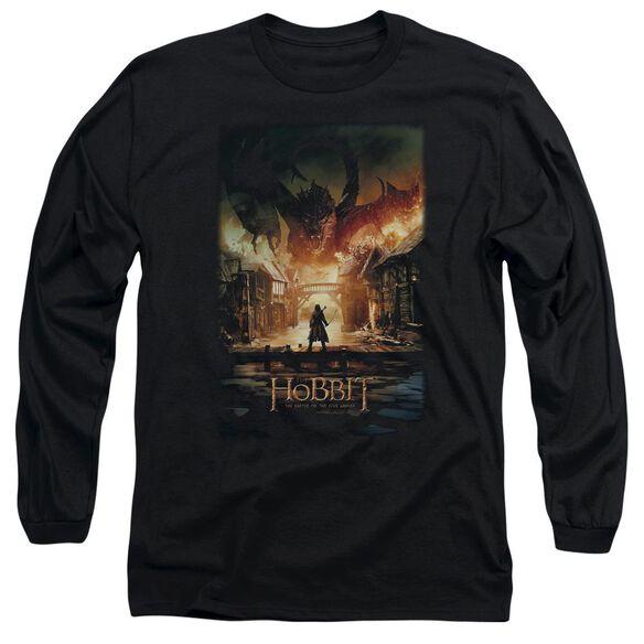 Hobbit Smaug Poster Long Sleeve Adult T-Shirt