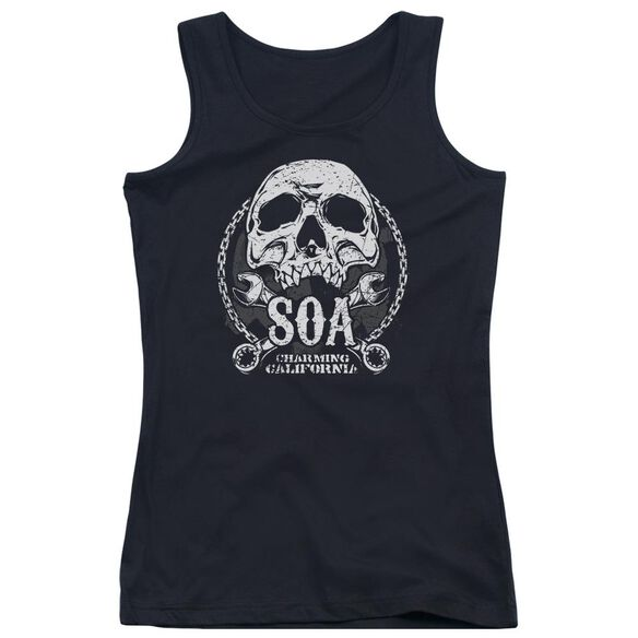 Sons Of Anarchy Soa Club Juniors Tank Top
