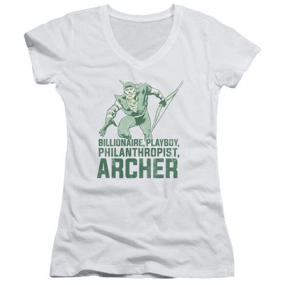 Dc Archer Junior V Neck T-Shirt