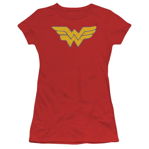 Jla Rough Wonder Short Sleeve Junior Sheer T-Shirt