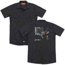 Reo Speedwagon Hi Infidelity(Back Print) Adult Work Shirt