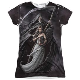 Anne Stokes Summon The Reaper Short Sleeve Junior Poly Crew T-Shirt