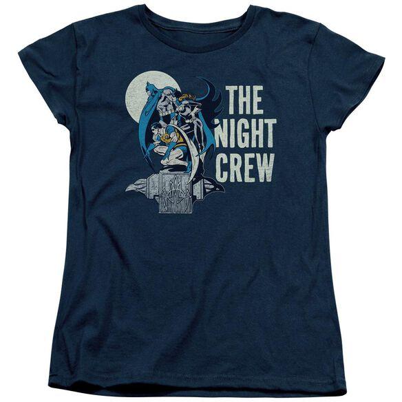 Dc Night Crew Short Sleeve Womens Tee T-Shirt