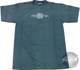Religion Necklace Hands Charcoal T-Shirt