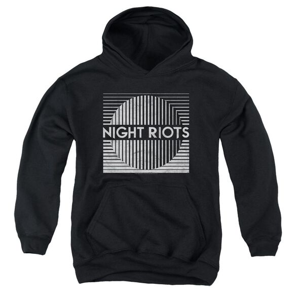Night Riots Title Youth Pull Over Hoodie