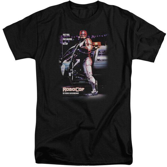 Robocop Poster Short Sleeve Adult Tall T-Shirt