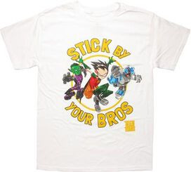 Teen Titans Stick By Your Bros T-Shirt
