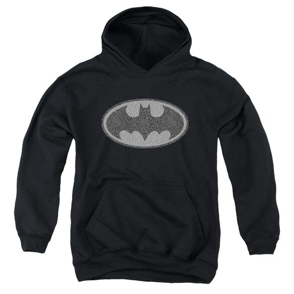 Batman Elephant Signal Youth Pull Over Hoodie