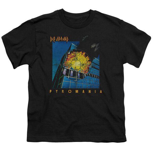 Def Leppard Pyromania Short Sleeve Youth T-Shirt
