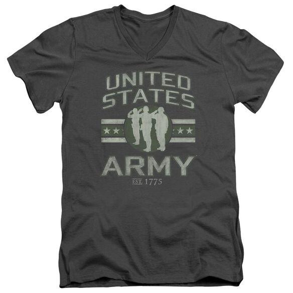 Army United States Army Short Sleeve Adult V Neck T-Shirt