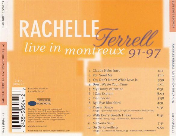 Live At Montreux 0402