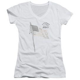 Army Tristar Junior V Neck T-Shirt