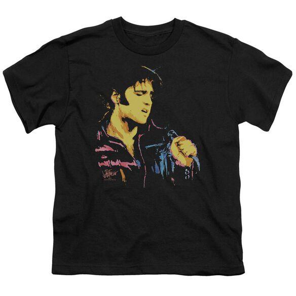Elvis Neon Elvis Short Sleeve Youth T-Shirt