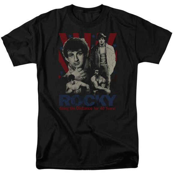 Rocky Going The Distance Short Sleeve Adult T-Shirt