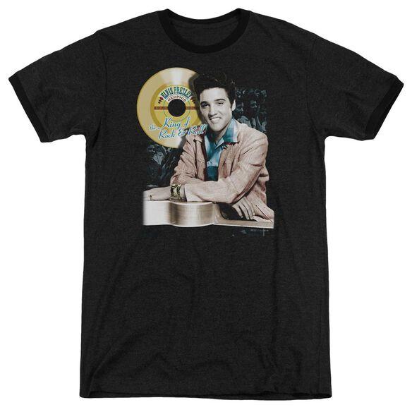 Elvis Presley Gold Record Adult Heather Ringer