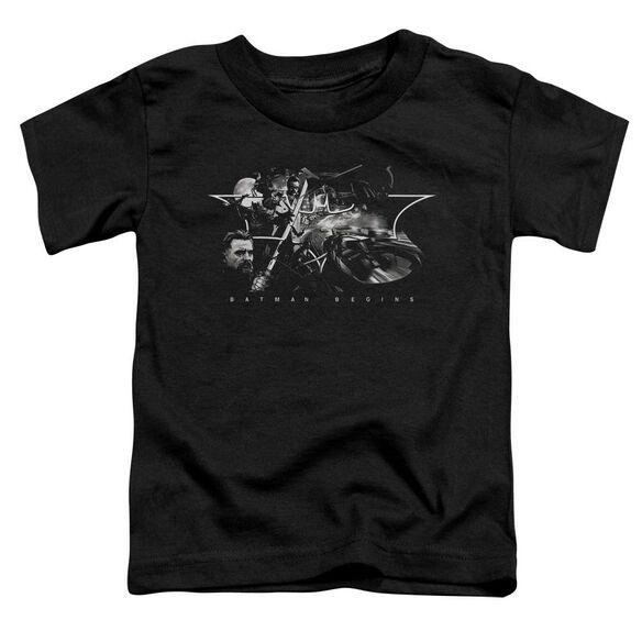 Batman Begins Night Natives Short Sleeve Toddler Tee Black T-Shirt
