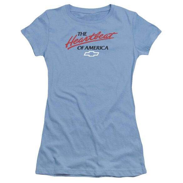 Chevrolet Heartbeat Of America Short Sleeve Junior Sheer Carolina T-Shirt