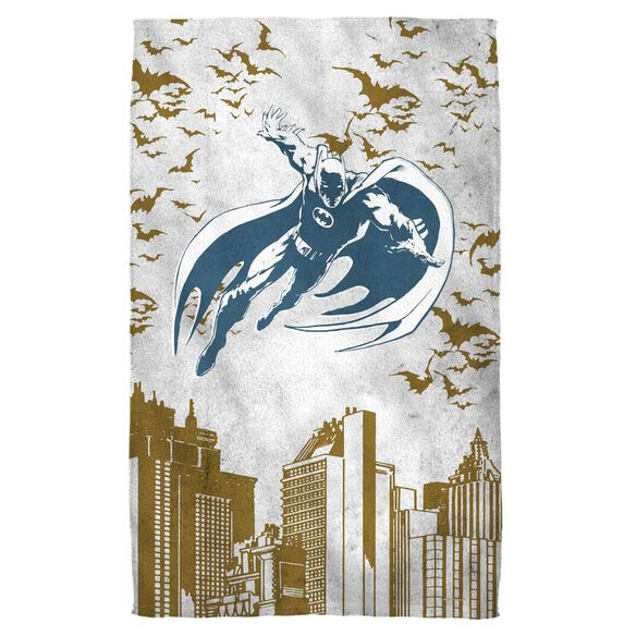 Batman City Vibe Towel White