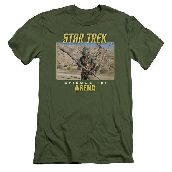 St Original Arena Short Sleeve Adult Military T-Shirt
