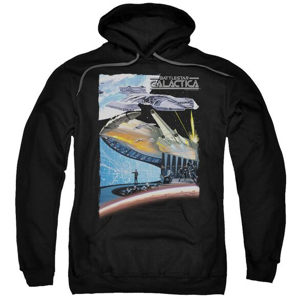 Bsg Concept Art Adult Pull Over Hoodie
