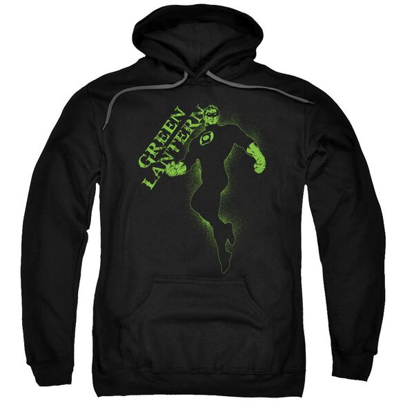 Gl Lantern Darkness Adult Pull Over Hoodie Black