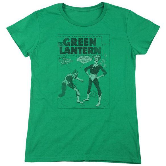 Lantern Perilous Traps Short Sleeve Womens Tee Kelly T-Shirt