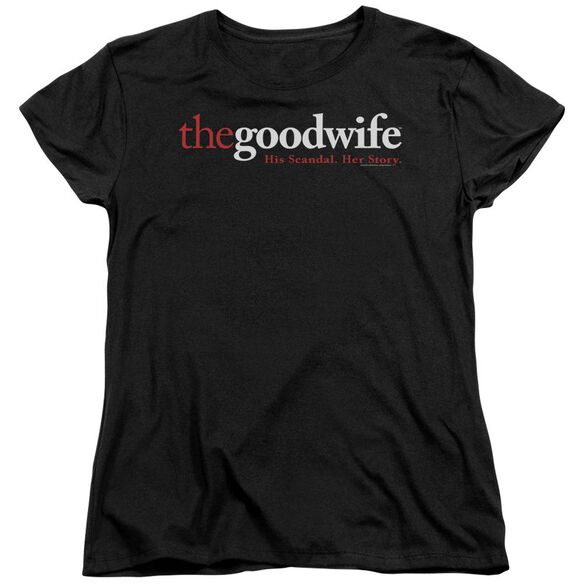 The Good Wife Logo Short Sleeve Womens Tee T-Shirt