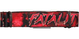 Mortal Kombat Fatality Seatbelt Belt