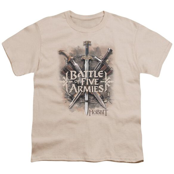 Hobbit Battle Of Armies Short Sleeve Youth T-Shirt