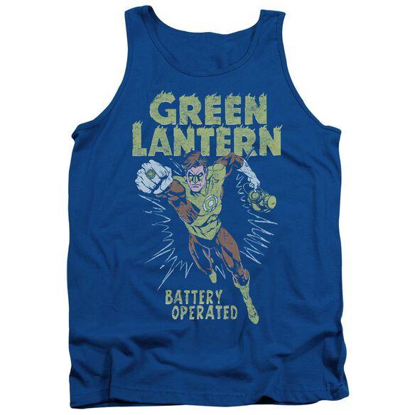 Green Lantern Fully Charged Adult Tank Royal