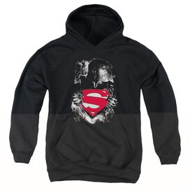 Superman Darkest Hour-youth Pull-over Hoodie