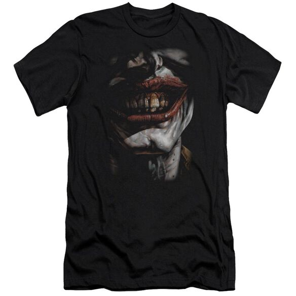 Batman Smile Of Evil Short Sleeve Adult T-Shirt