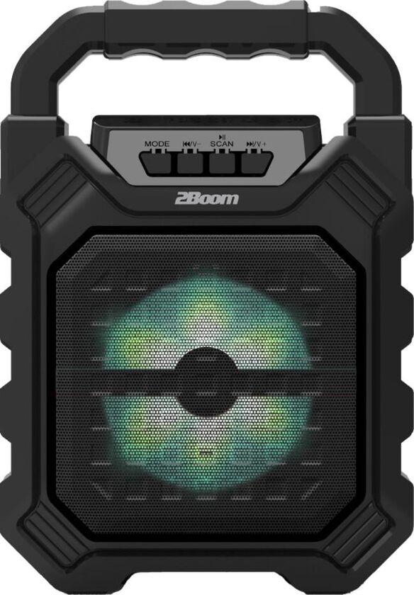10Boom Vibe Portable Wireless Bluetooth Speaker [Black]