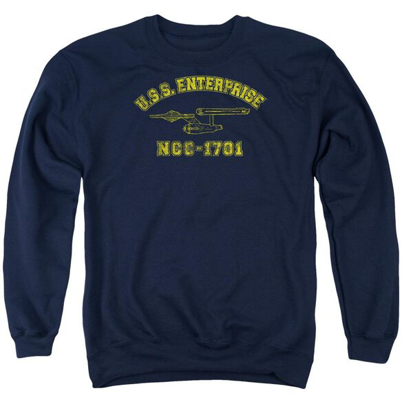 Star Trek Enterprise Athletic Adult Crewneck Sweatshirt