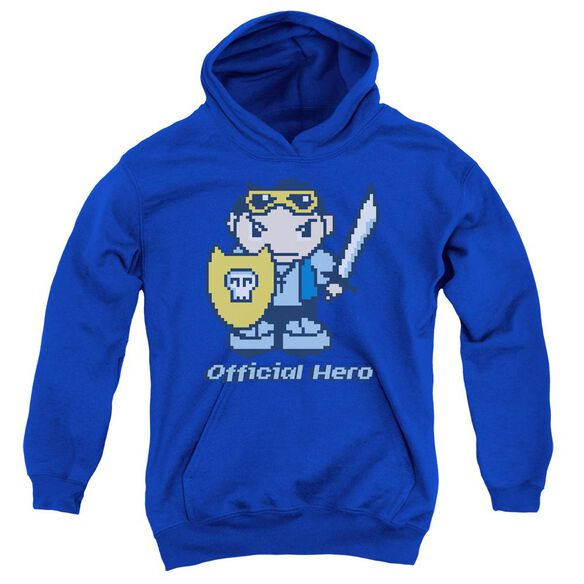 Official Hero Youth Pull Over Hoodie