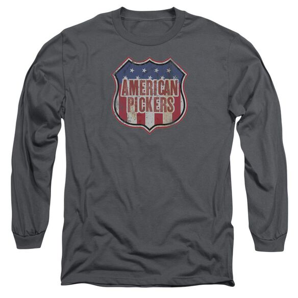 American Pickers Vintage Sign Long Sleeve Adult T-Shirt