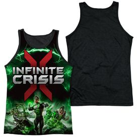 Infinite Crisis Ic Green Lantern Adult Poly Tank Top Black Back