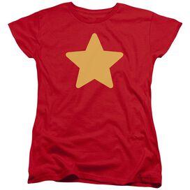 Steven Universe Star Short Sleeve Womens Tee T-Shirt
