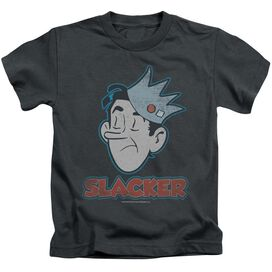 Archie Comics Slacker Short Sleeve Juvenile Charcoal Md T-Shirt