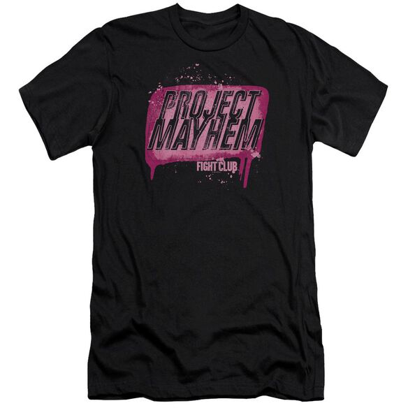 Fight Club Project Mayhem Premuim Canvas Adult Slim Fit