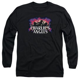 Charlies Angels Explosive Long Sleeve Adult T-Shirt