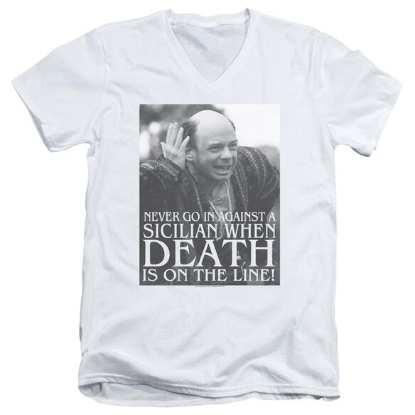 Princess Bride Sicilian Short Sleeve Adult V Neck T-Shirt