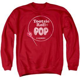Tootsie Roll Tootsie Roll Pop Logo Adult Crewneck Sweatshirt