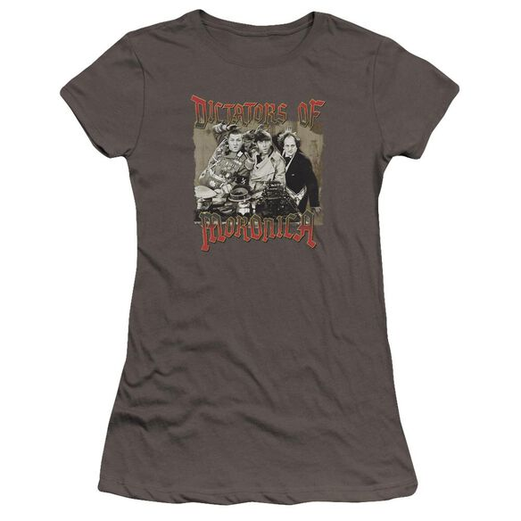 Three Stooges Moronica Premium Bella Junior Sheer Jersey