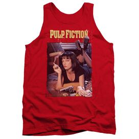Pulp Fiction Poster Adult Tank