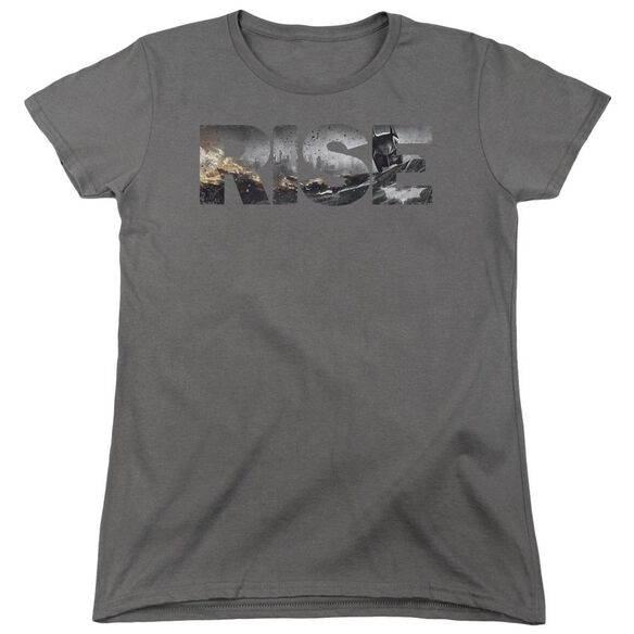 Dark Knight Rises Title Short Sleeve Womens Tee T-Shirt